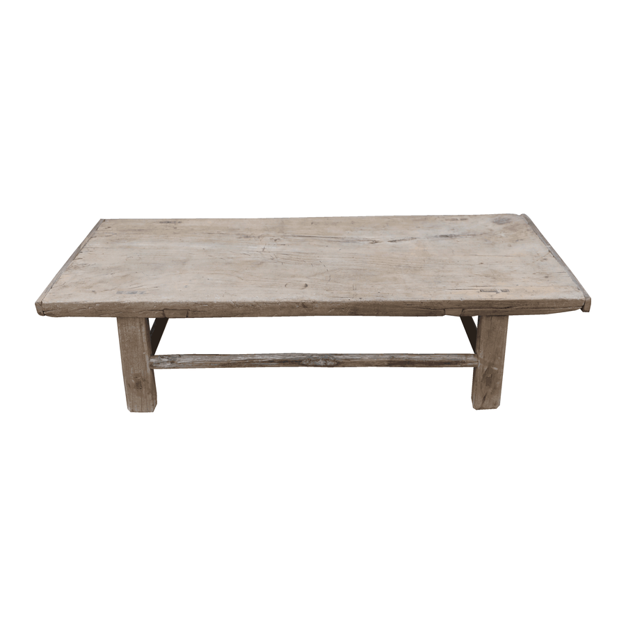 Petite Lily Interiors Raw wood coffee table - 93x59xh30cm - Elm Wood