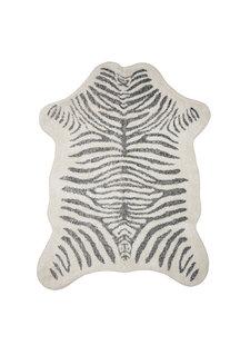Bloomingville Rug Zebra - grey - L190xW145cm - Bloomingville