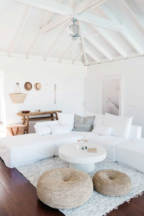 Holiday Home with characteristic vintage furniture pieces