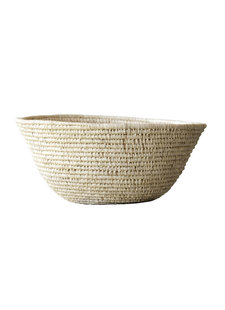 Bloomingville Raffia basket - natural - Ø66xh28cm - Bloomingville