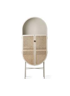 HK Living Webbing Cabinet - light grey - 65x30xh160cm - HK Living