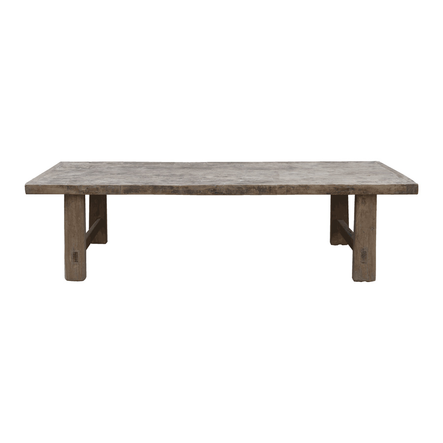 Snowdrops Copenhagen Natural coffee table - 160x61x43cm - Elm Wood