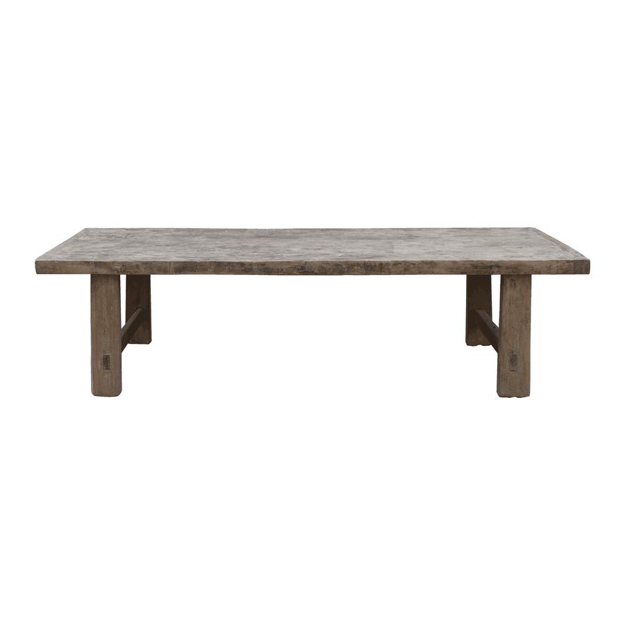 Snowdrops Copenhagen Table basse naturelle - 160x61x43cm - Bois d'orme