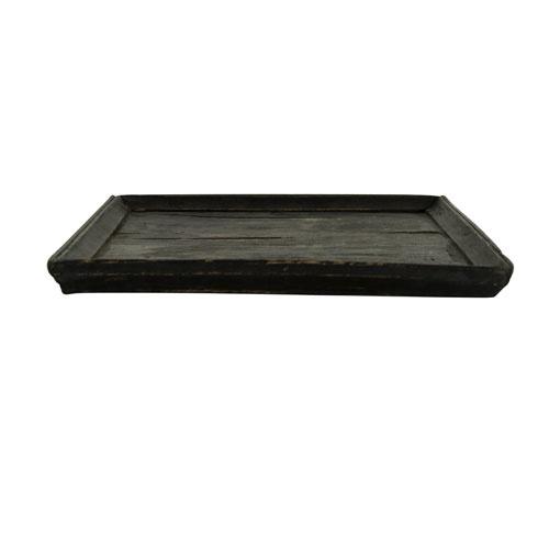 Snowdrops Copenhagen Wooden Vintage tray - black - 45x30xh2cm - Snowdrops Copenhagen