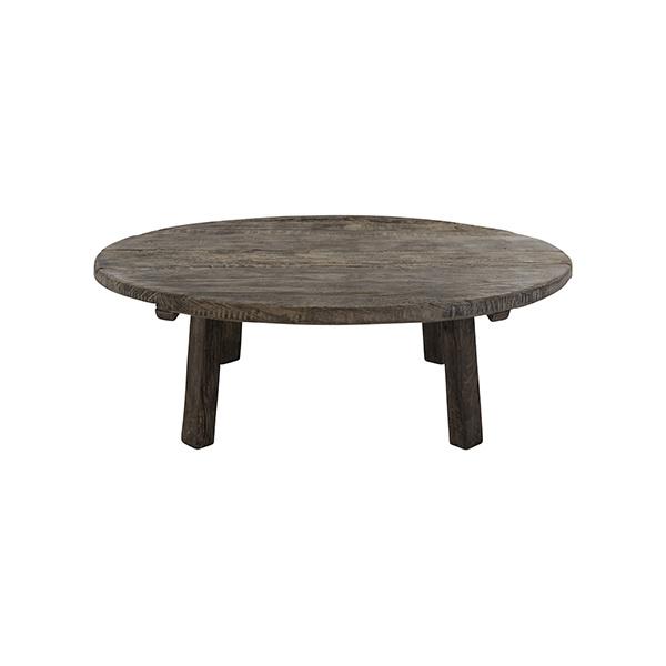 Snowdrops Copenhagen Natural coffee table rond - 120xh45cm - Unique Item
