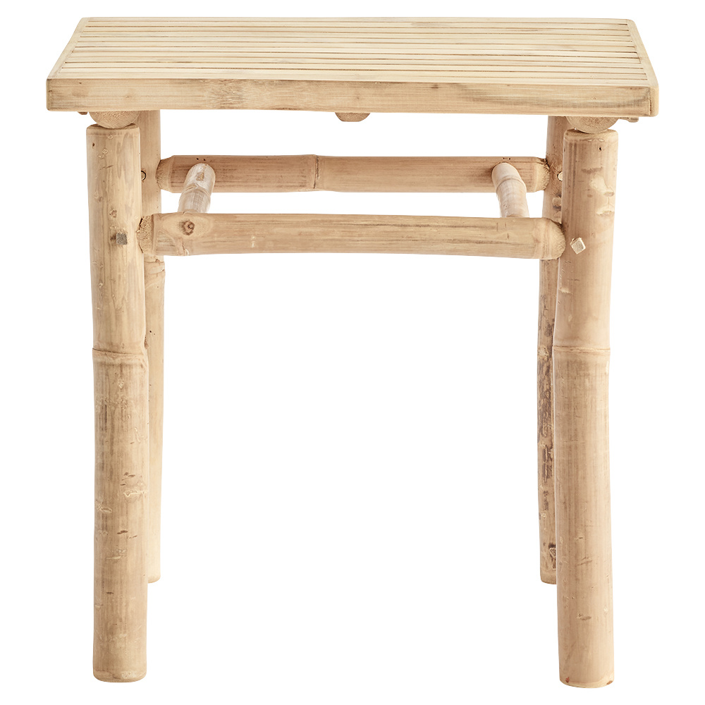 Bloomingville Outdoor coffee table bamboo - L45xH45xW45cm - TinekHome