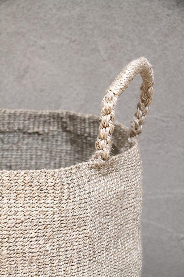 the dharma door  Laundry basket jute - Ø40Xh52cm - TheDharmaDoor