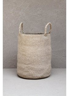 the dharma door  Laundry basket jute - Ø40Xh52cm - TheDharmaDoor