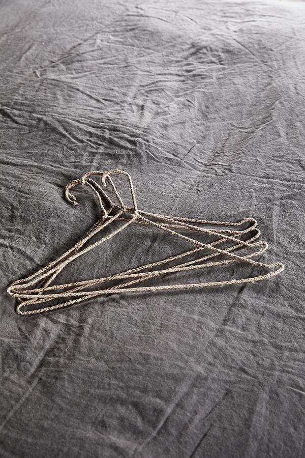the dharma door  Woven Coat Hanger Set - 42cm - TheDharmaDoor