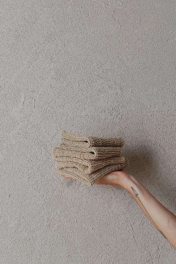 the dharma door  Hemp Wash Cloth - 28x28cm - TheDharmaDoor