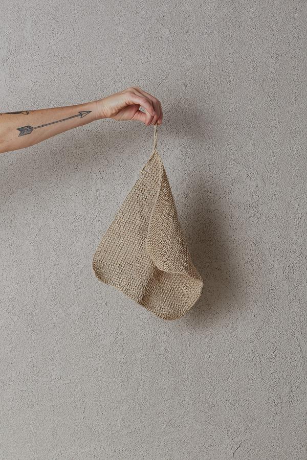 the dharma door  Gant de toilette de chanvre - 28x28cm - TheDharmaDoor