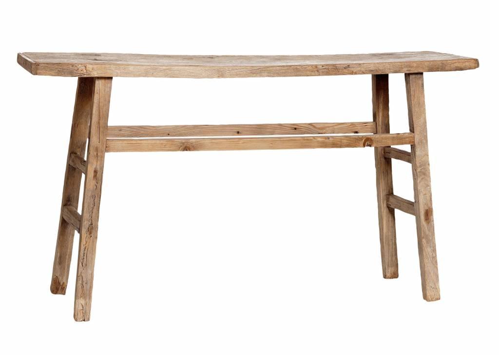 Snowdrops Copenhagen Console table / Desk - elm wood - 103x40x85cm