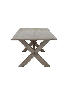 Snowdrops Copenhagen Dining room table recycled elm wood - 180x90x78H