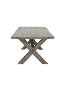 Snowdrops Copenhagen Table de salle à manger bois brut - 180x90x78H