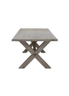 Snowdrops Copenhagen Table de salle à manger bois d'orme - 250x100cm  - Piece Unique
