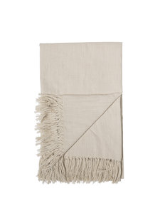 Bloomingville Nappe rectangulaire - coton - 220x140cm - naturel - Bloomingville
