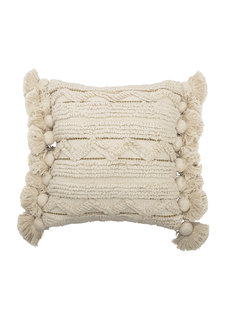 Bloomingville Cushion - blanc - L40xW40 - Bloomingville