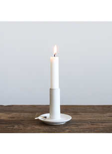 Tell me more Candle Holder - white - L9xH9cm - Tell Me More