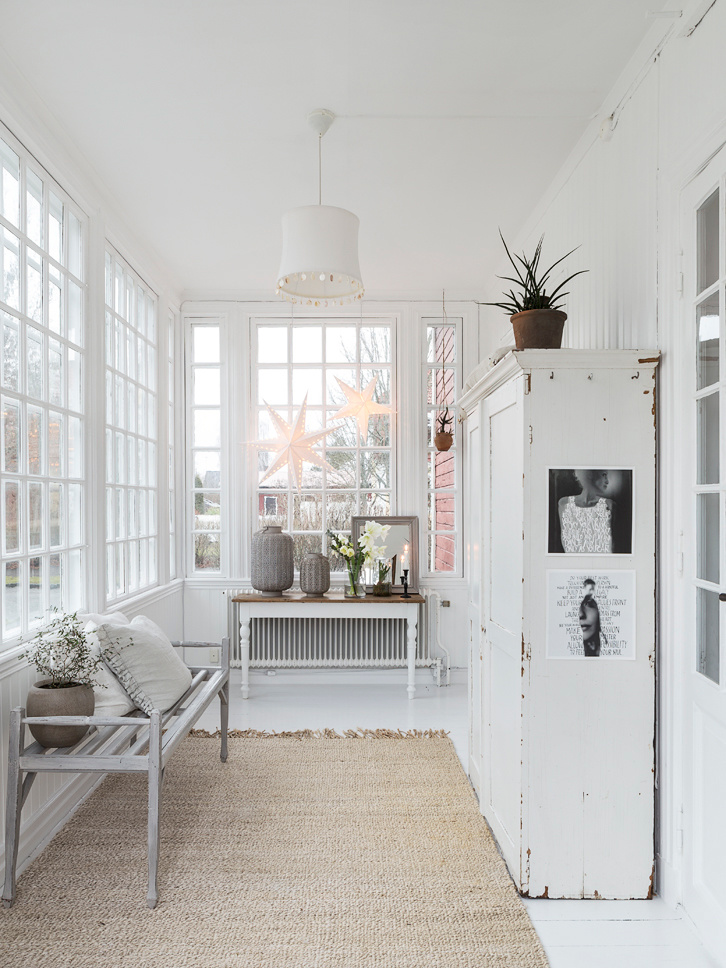 Harmonious Danish architect home with Old & Vintage Furniture