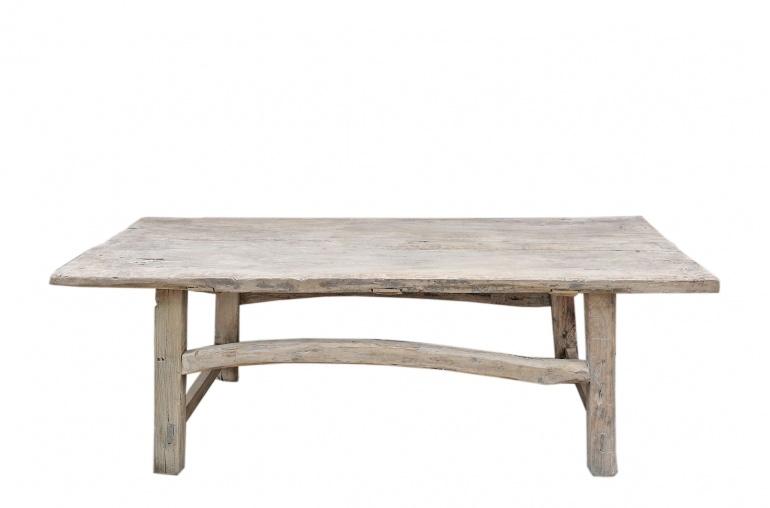 Snowdrops Copenhagen Coffee table Elm Wood - 146x67xh43cm - unique piece