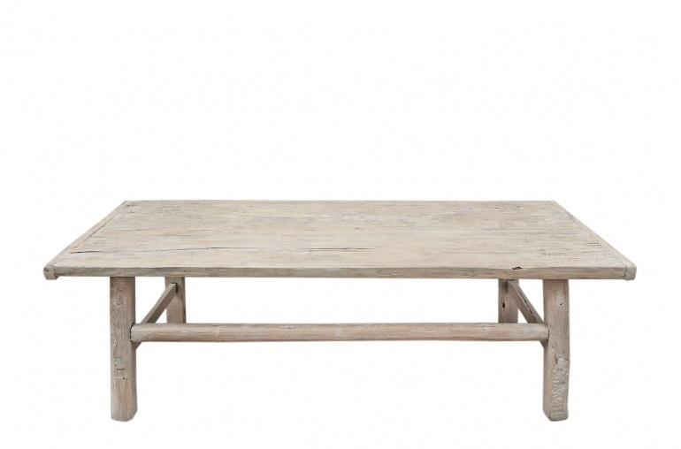 Snowdrops Copenhagen Coffee table Elm Wood - 131x62xh43cm - unique piece