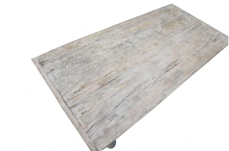 Snowdrops Copenhagen Table basse bois d'orme - 131x62xh43cm - pièce unique