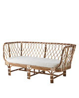 Affari of Sweden Bench in rattan RIVIERA - 180xD75xH41/80cm - Affari of Sweden