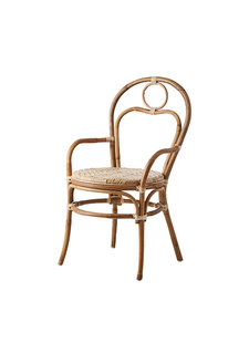 Affari of Sweden Rattan chair RIVIERA - Natural - W51xD52xH47/90cm
