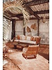 Petite Lily Interiors Rattan lounge chair - Natural - 78x74x94cm