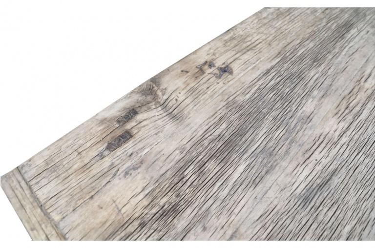 Petite Lily Interiors Table basse bois brut - 113x59xh45cm - Peuplier