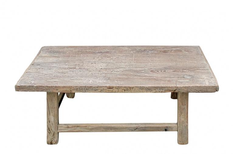 Snowdrops Copenhagen Coffee table Elm Wood - 109x64xh36cm - unique piece
