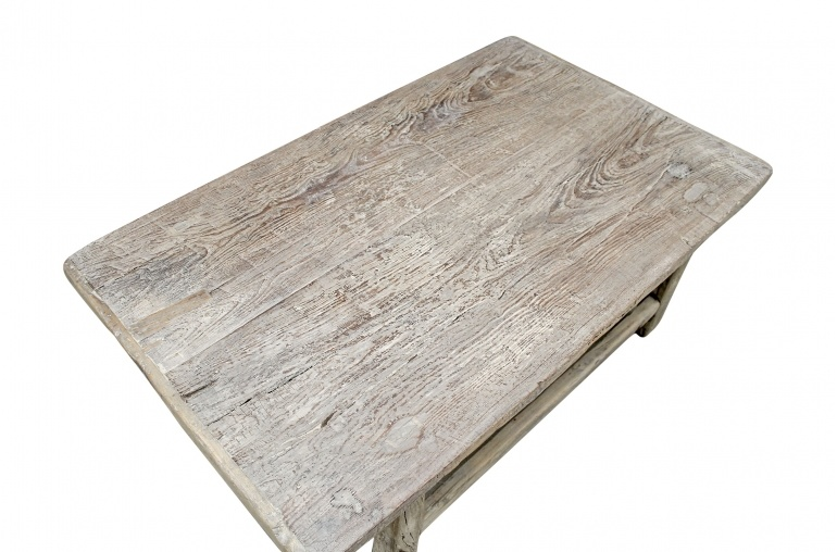 Snowdrops Copenhagen Table basse bois d'orme - 109x64xh36cm - pièce unique