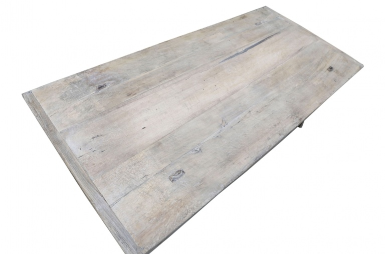 Snowdrops Copenhagen Table basse bois d'orme - 146x67xh43cm - pièce unique