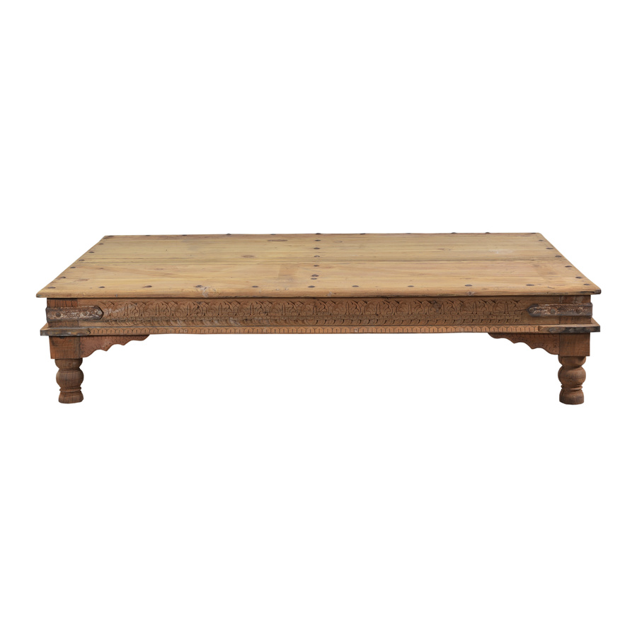 Petite Lily Interiors Wood coffee table - 183x117x40cm - unique item
