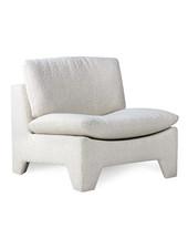 HK Living Retro lounge fauteuil boucle cream - HK Living