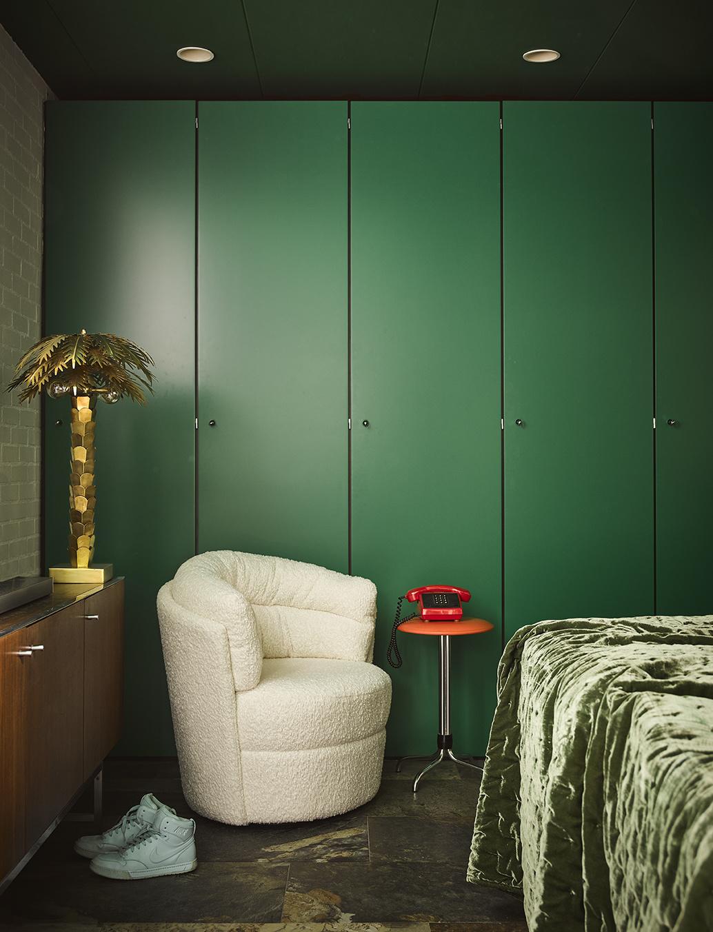 HK Living Retro lounge fauteuil twister cream - 76x76x86cm - HK Living