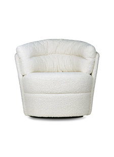 HK Living Retro lounge fauteuil twister cream - HK Living