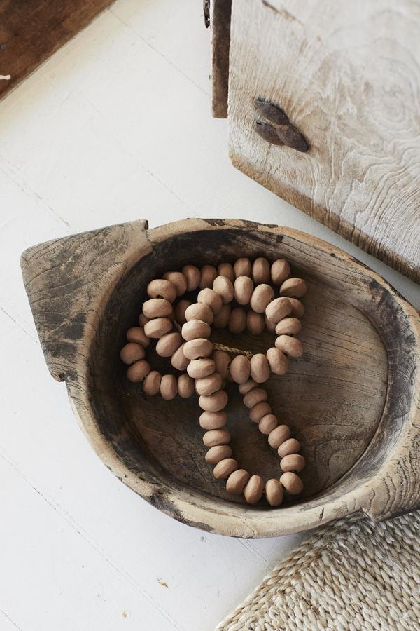 the dharma door  Billes d'argile décoratives - boucle de 90cms - TheDharmaDoor