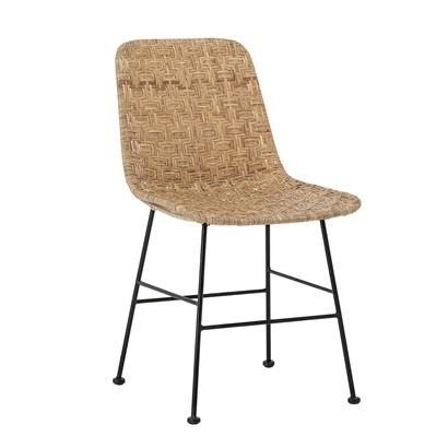 Bloomingville Rattan chair 'Kitty' - Natural - Bloomingville