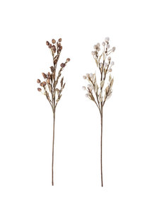 Bloomingville Deco Flower, Artificial Flowers (set of 2) - 80cm - Bloomingville