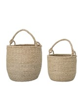 Bloomingville Set of 2 Seagrass baskets - natural - Bloomingville