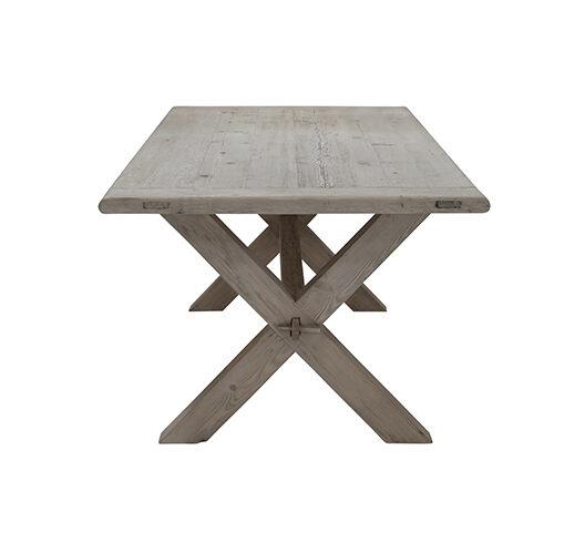 Snowdrops Copenhagen Table de salle à manger bois brut - 200x100cm  - Piece Unique
