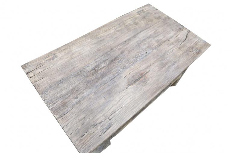 Snowdrops Copenhagen Table basse vintage bois d'orme - 104x56xh38cm - pièce unique