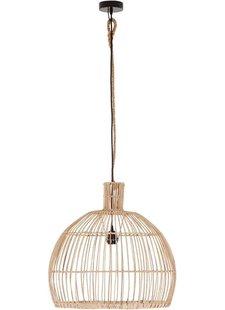 Petite Lily Interiors Rattan pendant lamp - natural - Ø50xH50cm