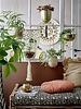 Bloomingville Pot de fleurs suspendu - laiton - Ø15xL85xH17 cm - Bloomingville