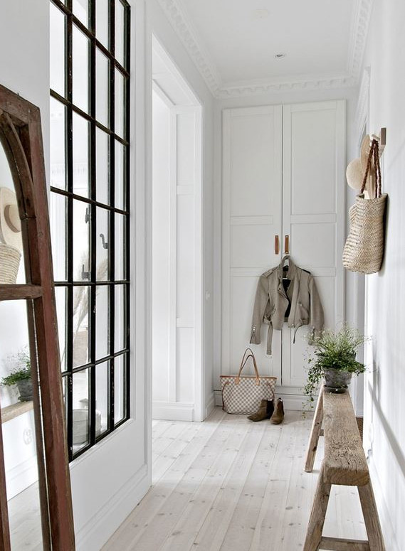 Nordic Ethnic Winter Proof Styling! - seen at planete-deco.fr