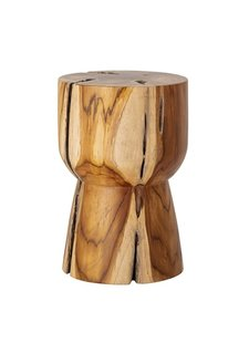 Bloomingville Side table 'Gaia' - Natural - Ø30xH45cm - Bloomingville