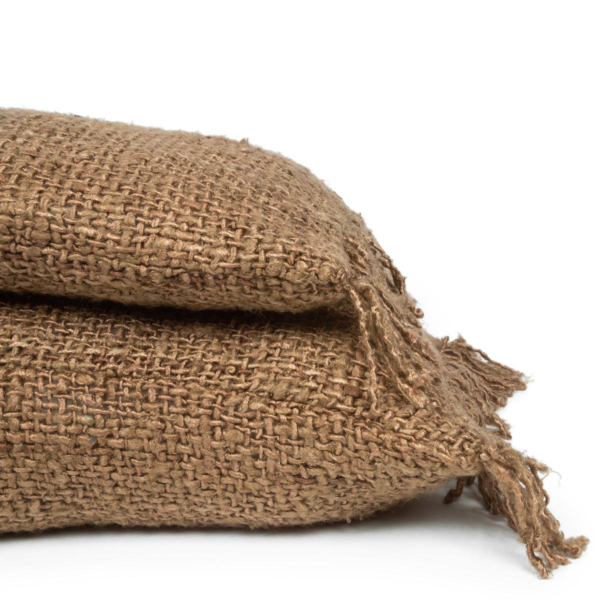 Petite Lily Interiors Cushion Boho - Brown / Natural - L100xW35cm