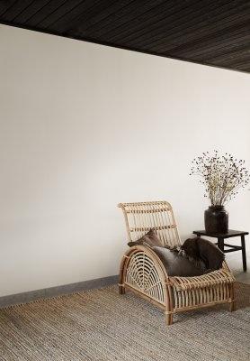 Tell me more Tapis toile de Chanvre - nature - 200x300 - Tell Me More