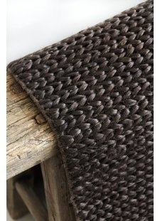 Tell me more Hemp Rug - Brown - 200x300 - Tell Me More